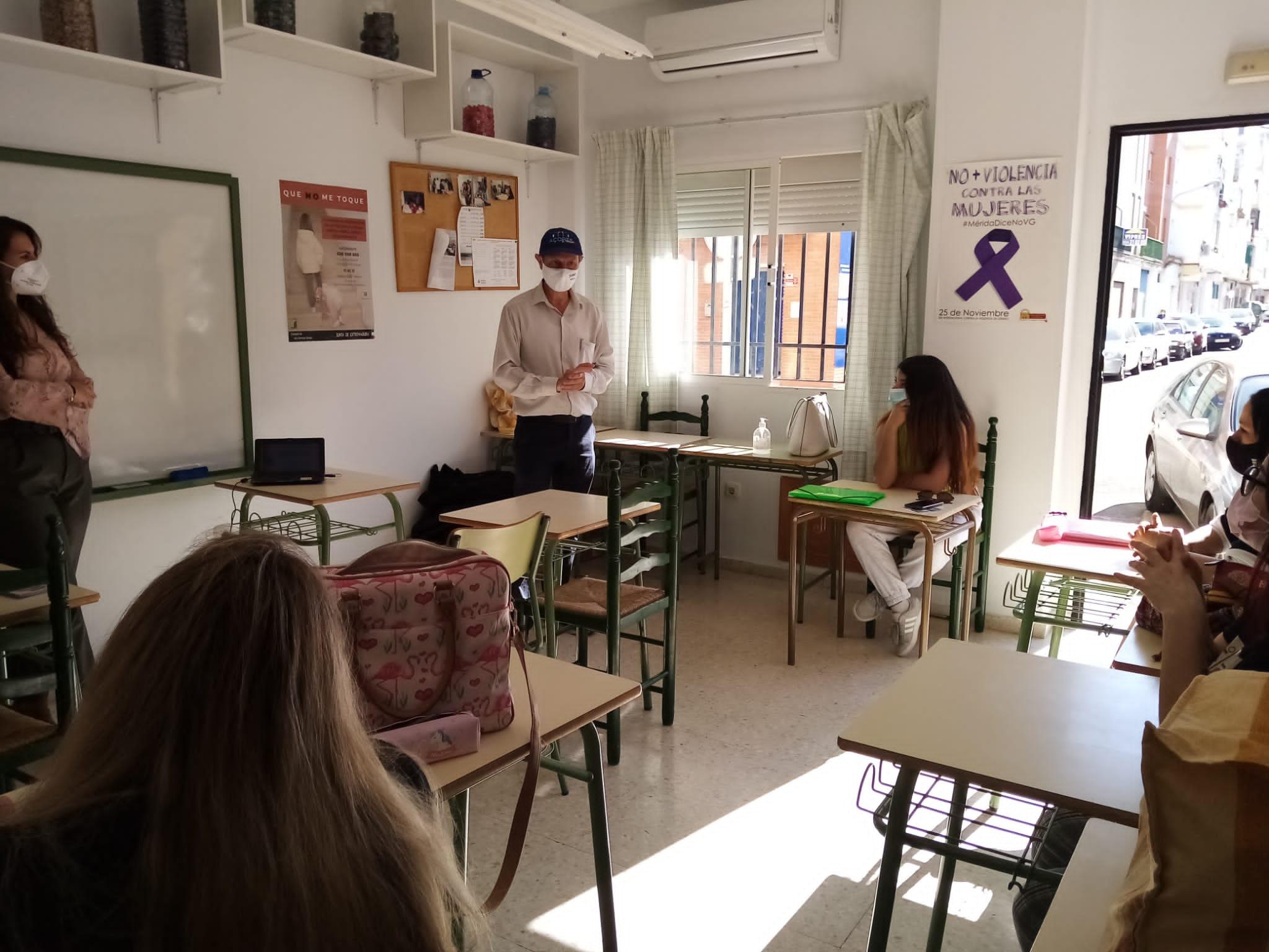 taller de sensibilización Delegación Igualdad
