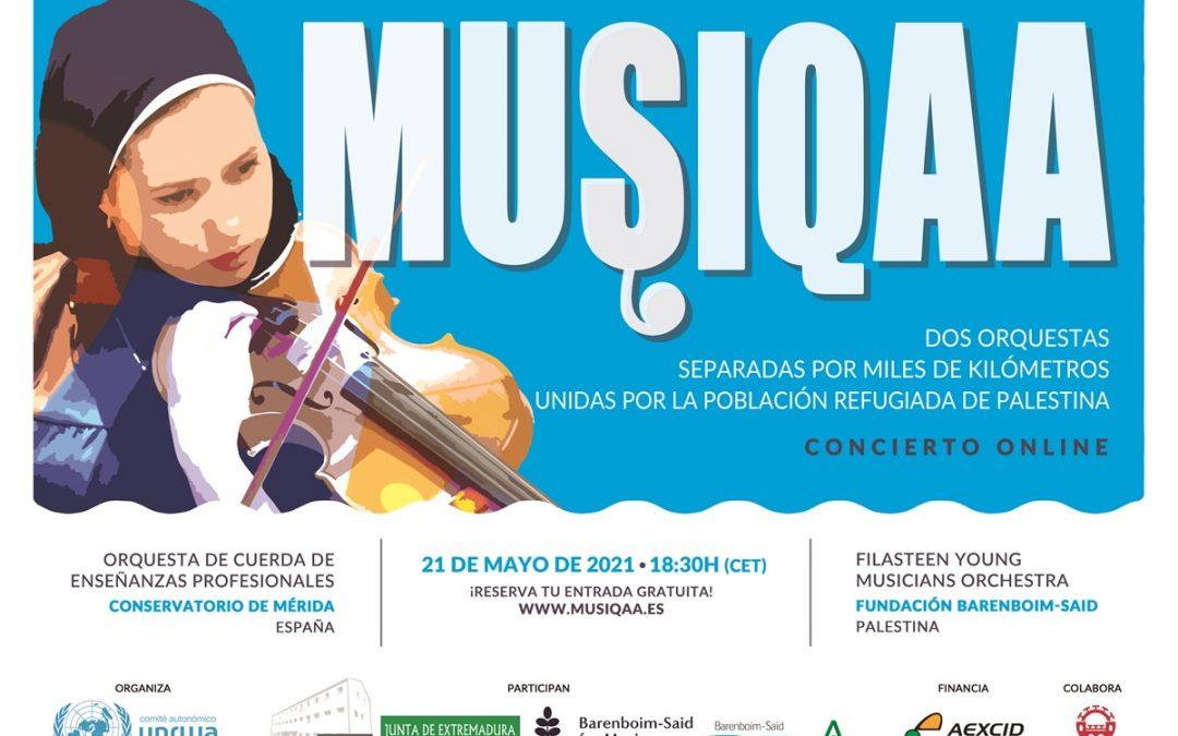 La Orquesta de Cuerda del Conservatorio ofrecerá un concierto junto con la Filasteen Young Musicians Orchestra de la Fundación Barenboim-Said