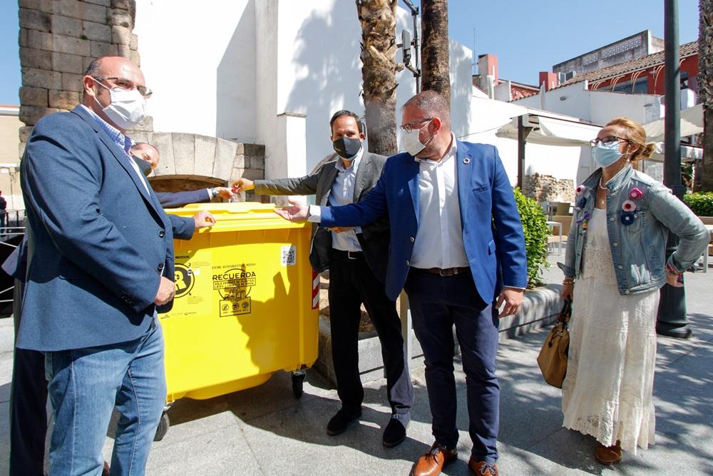 Mérida se convierte en la primera ciudad de Extremadura en ofrecer recompensas por el reciclaje gracias al programa Reciclos
