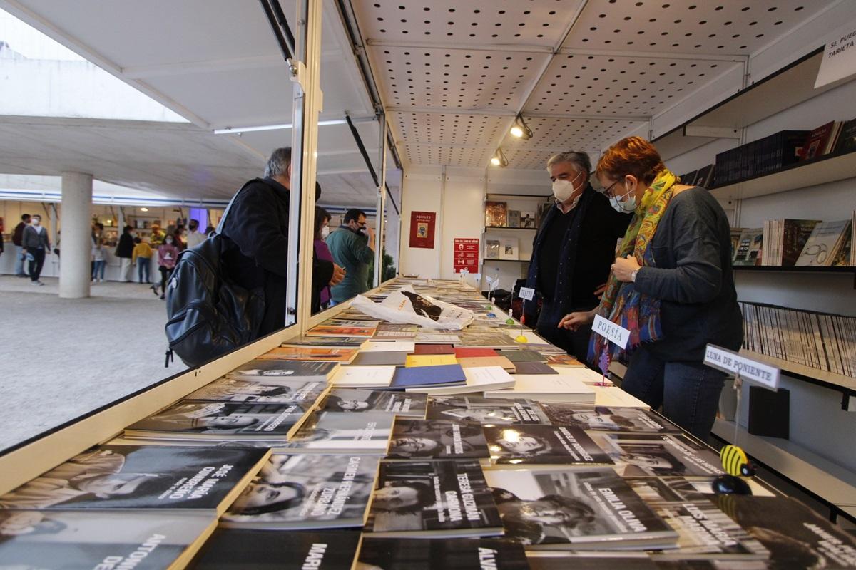 Feria del Libro 2020 en Templo de Diana casetas