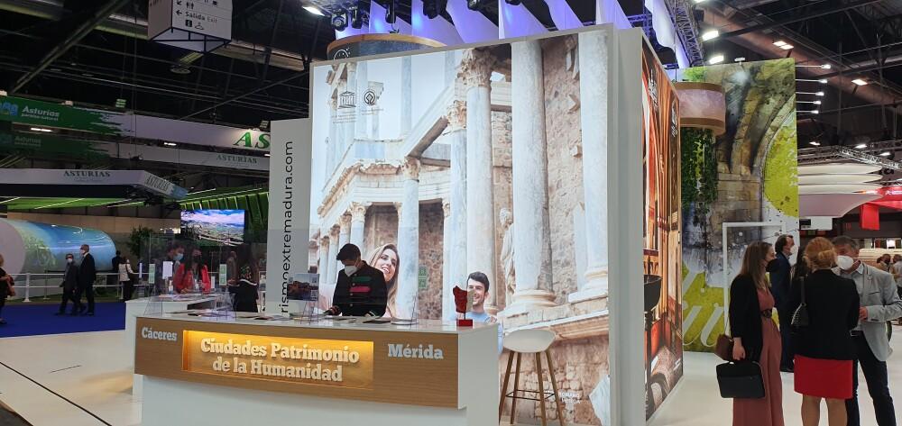 Mérida se ha posicionado en Fitur como destino preferente de la región con más demanda de turismo nacional