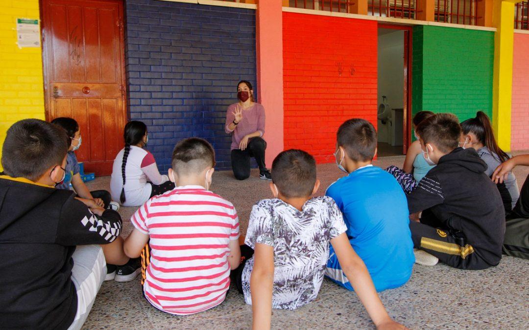 El Programa de Prevención con Familias y Menores inicia sus actividades con alumnos de Primaria en los centros educativos
