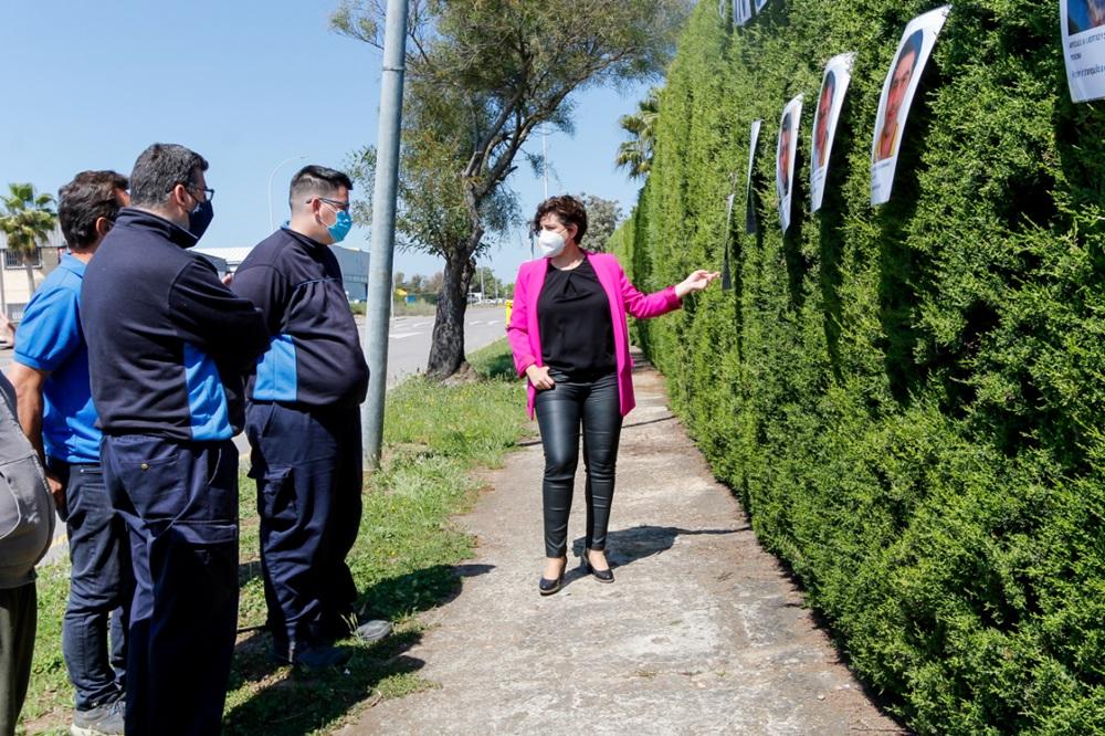 """El Centro Ocupacional Proserpina acoge el mural """"Soy diferente, como tú"""""""