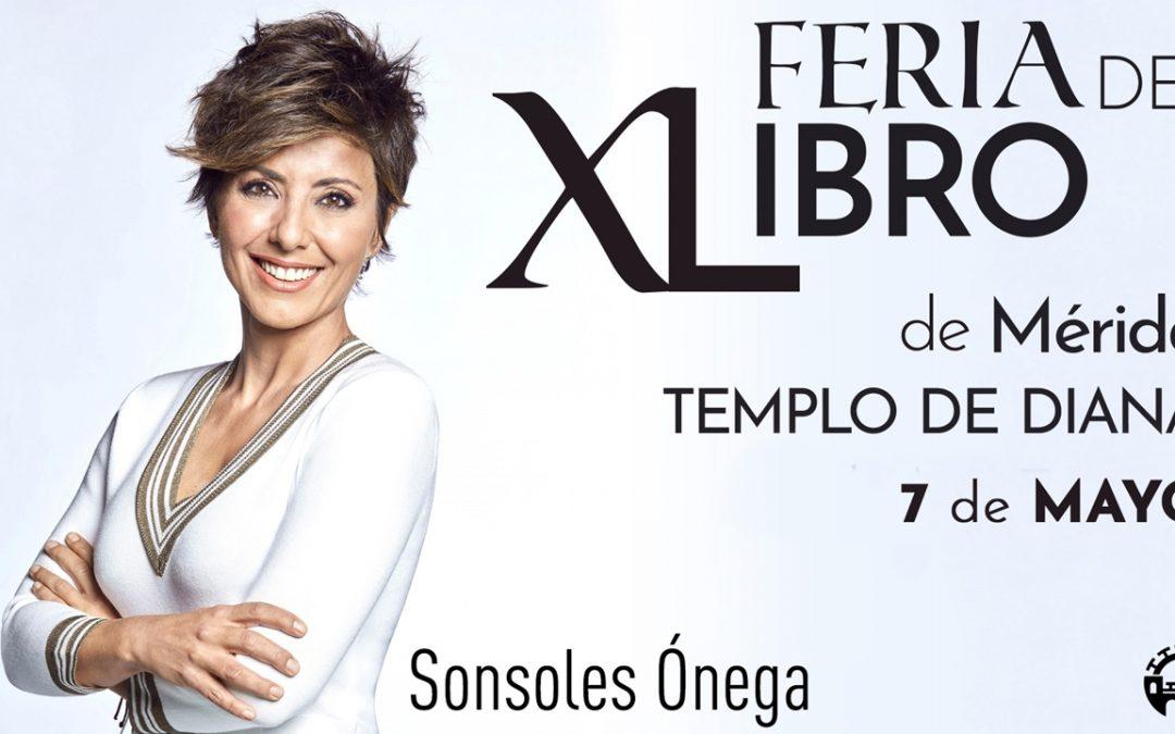 Sonsoles Ónega y Antoñito Molina cierran hoy la jornada que marca el ecuador de la Feria del Libro