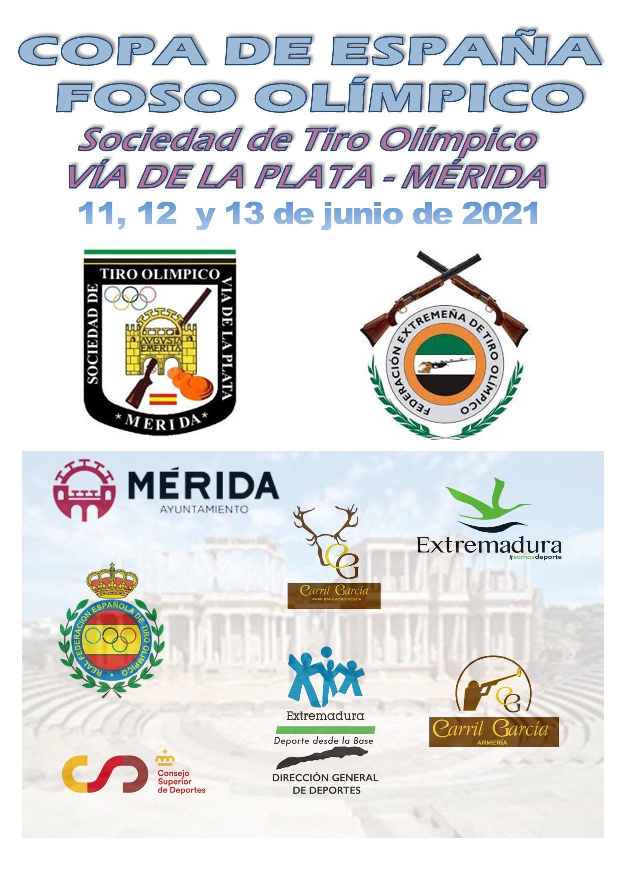 CARTEL COPA ESPAÑA TIRO OLÍMPICO 2021