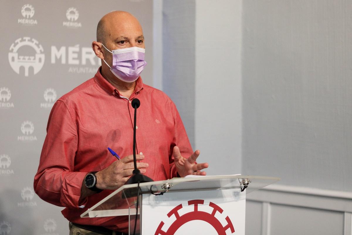 Julio César Fuster rueda de prensa Empleo