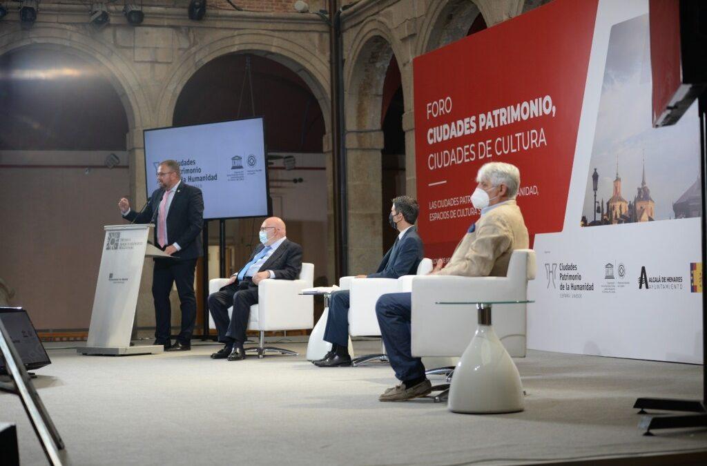 """Antonio Rodríguez Osuna: """"Las Ciudades Patrimonio van a ser la primera opción para los turistas que buscan cultura segura"""""""