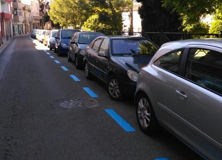 Las plazas de estacionamiento regulado son hoy casi un 30 por ciento menos que las firmadas en el contrato inicial con Vectalia