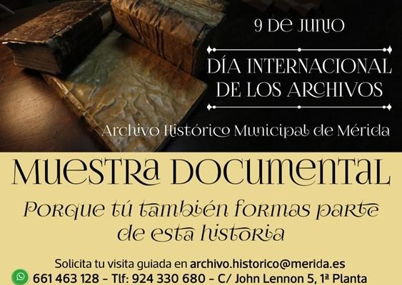 El Archivo Histórico Municipal celebra mañana su Día Internacional