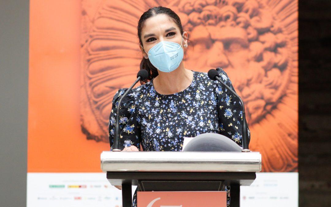 La delegada de Turismo destaca al Festival de Mérida como parte responsable del impacto turístico de la ciudad de Mérida