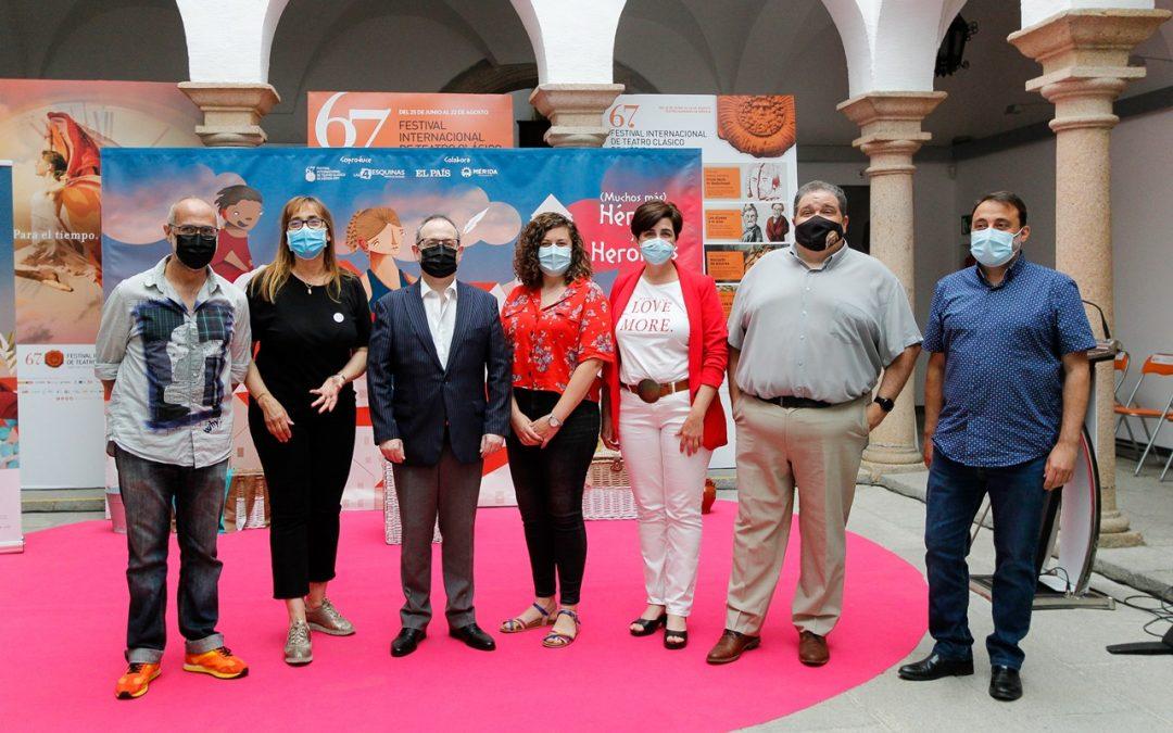 La delegada de educación destaca que el Festival de Mérida piense en todos los públicos y en todas las edades en su programación