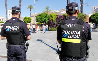 La Policía Local denunció a una persona por actos vandálicos en contenedores y a otra por pintadas