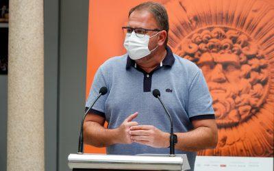 Rodríguez Osuna destaca los 160 eventos culturales celebrados en Mérida tras el confinamiento de 2020