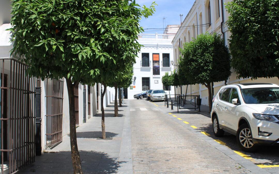 Desde este lunes se habilitan dos zonas de carga y descarga por la reforma de Valverde Lillo y aledaños