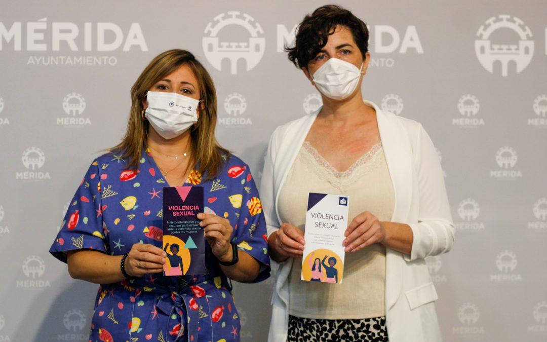 La delegación de Igualdad de Género edita un folleto sobre Violencia Sexual, también en Lectura Fácil