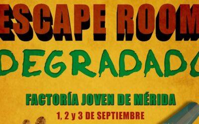 La Factoría Joven acoge un Escape Room en Feria organizado por la Fundación Atenea