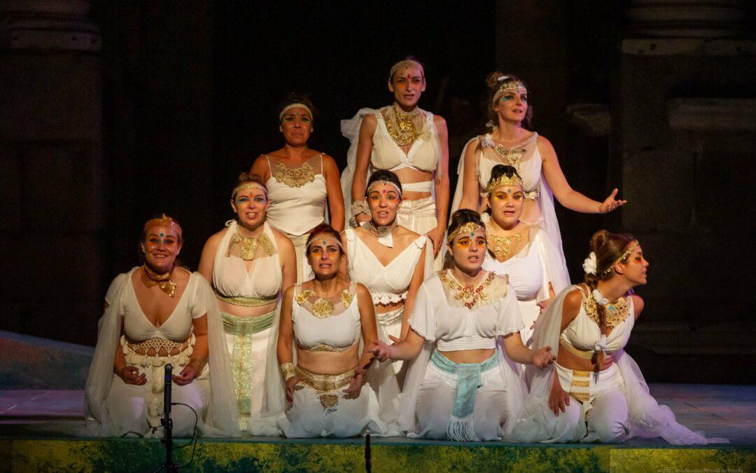"""El Festival Internacional de Teatro Clásico de Mérida cierra su 67 edición este fin de semana con """"Las Suplicantes"""""""