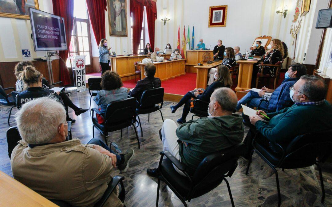 El ayuntamiento de Mérida destina más de 370.000 euros al año en políticas de igualdad de género real y efectiva