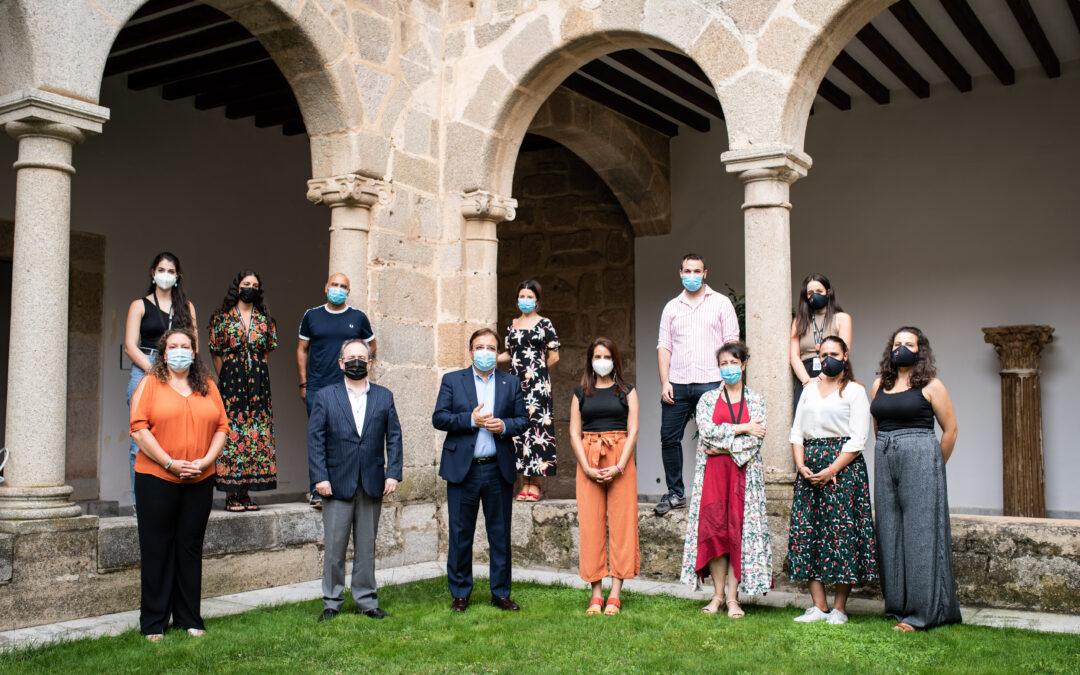 La alcaldesa en funciones, Carmen Yáñez, destaca la recuperación del Turismo en el verano de 2021, según los datos del Consorcio y del Festival de Mérida