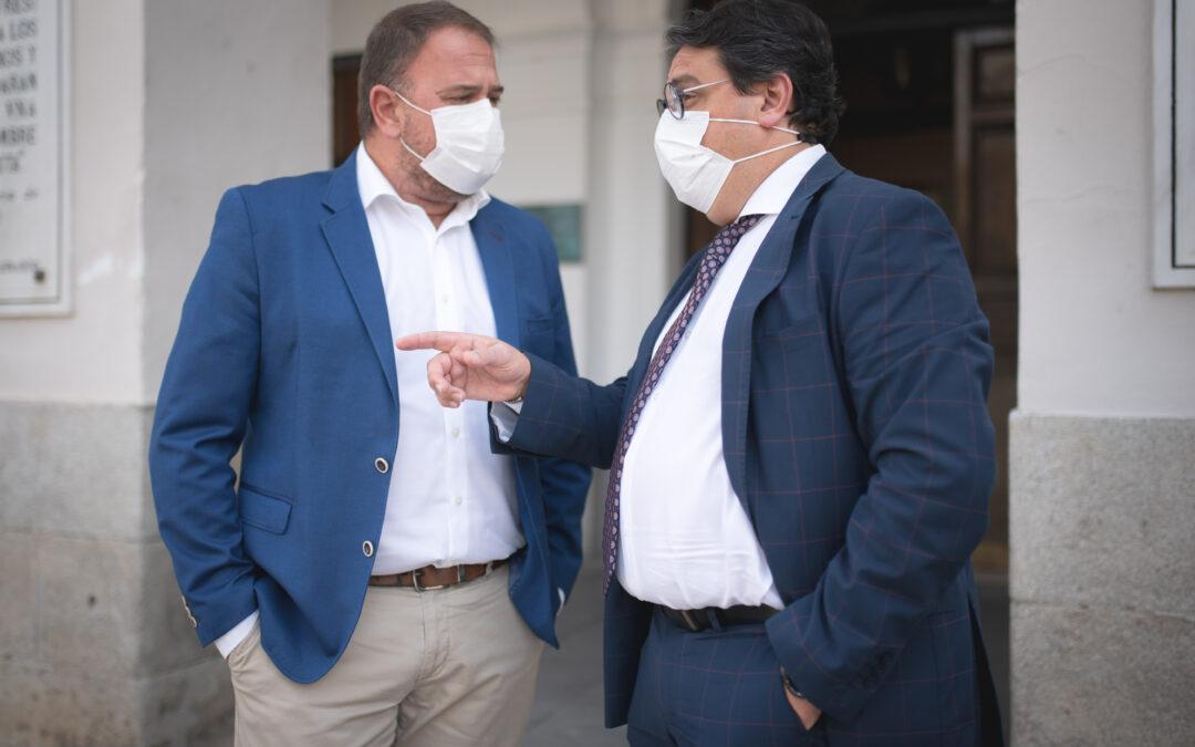 """El alcalde destaca la importante inversión en el proyecto de renovación integral de la Residencia de Mayores """"El Prado"""""""