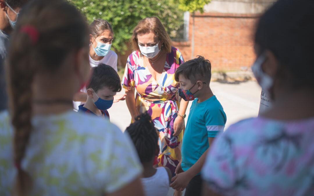 Los Espacios Educativos Saludables ofrecen apoyo educativo, talleres y actividades deportivas a menores entre 5 y 12 años