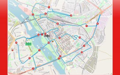 Cortes de tráfico con motivo de la Media Maratón mañana sábado, 2 de octubre
