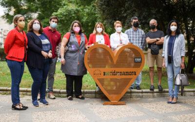 Cinco nuevos colectivos se beneficiarán, durante este año, de los corazones solidarios