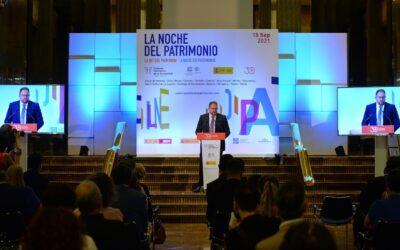 El alcalde, Antonio Rodríguez Osuna, presenta en el Instituto Cervantes de Madrid, las actividades de 'La Noche del Patrimonio 2021'